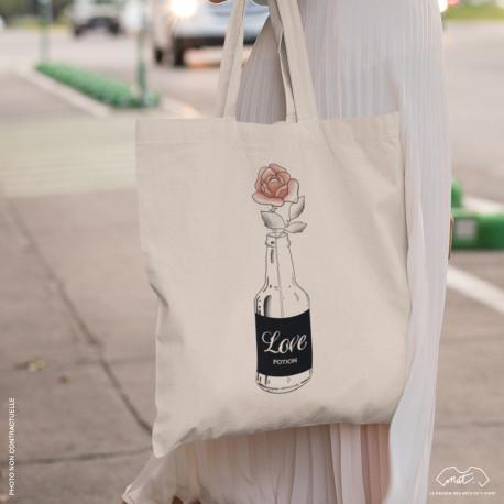 "Tote bag ""LOVE POTION"""
