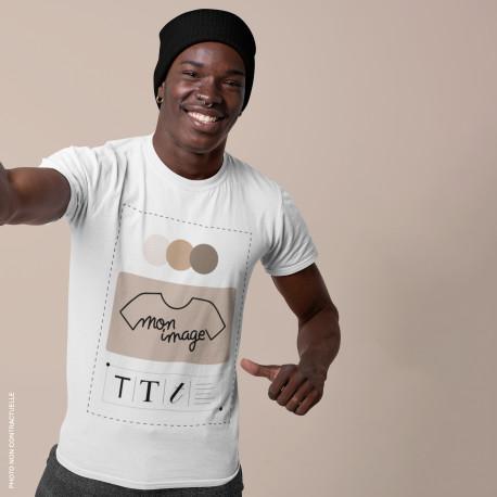 T-Shirt Homme personnalisé - blanc