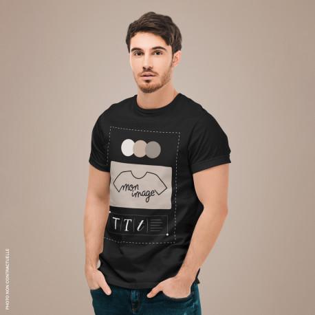 T-Shirt Homme personnalisé - noir