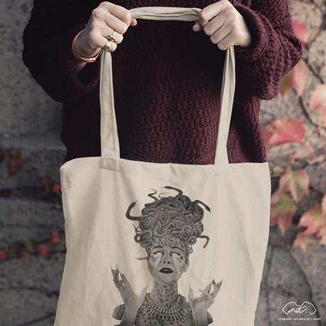 Tote bag MEDUSA - Collection Halloween