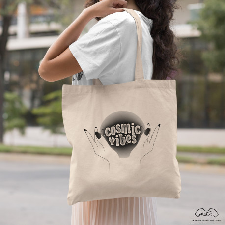 Tote bag COSMIC VIBES - Collection Halloween