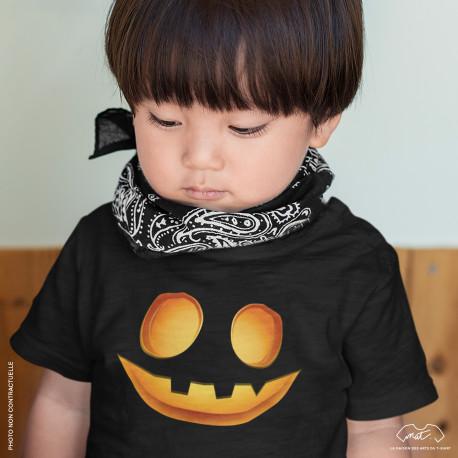 T-shirt Enfant JACK-O'-LANTERN - Collection Halloween