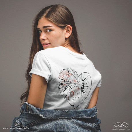 T-Shirt Femme - I DON'T GIVE A SHIT